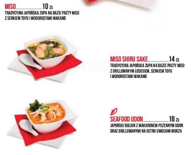 Ten Sushi Menu Menu Restauracji Ten Sushi Bemowo Warszawa