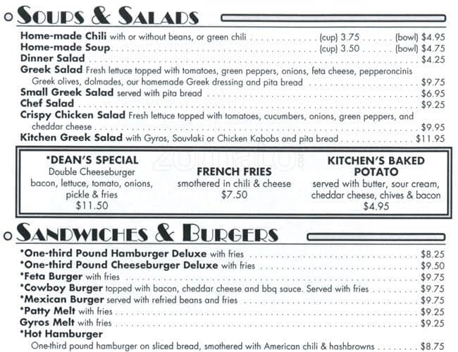 the restaurant information including the petes kitchen menu items and prices may have been modified since the last website update - Petes Kitchen