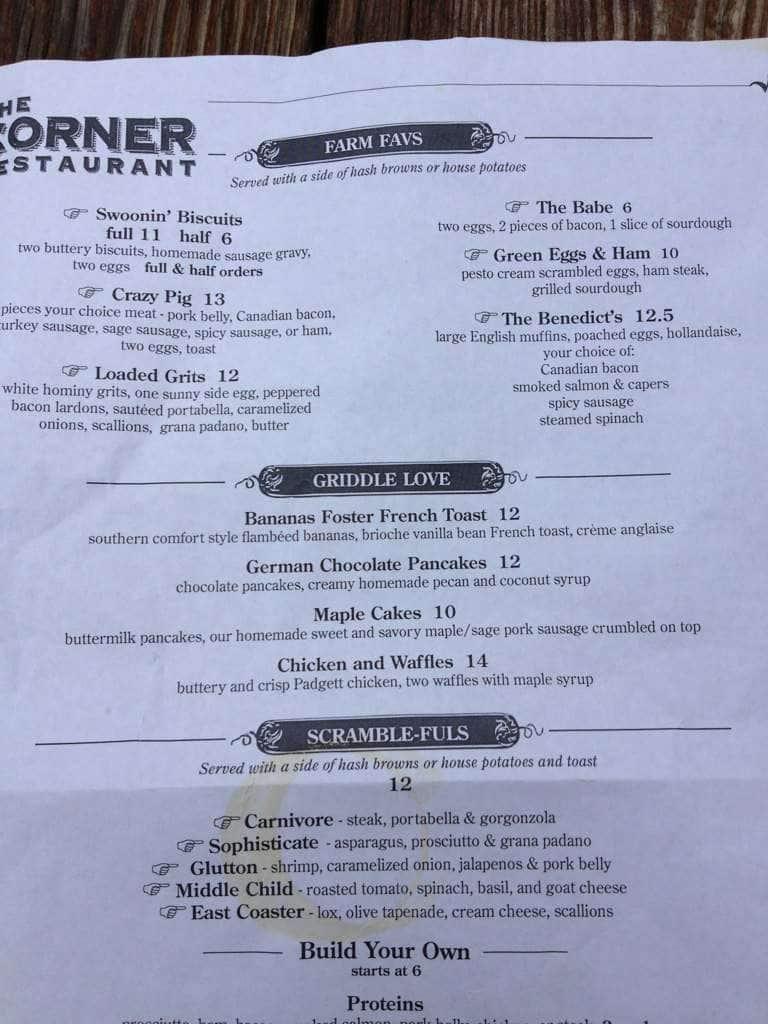 the corner restaurant menu menu for the corner restaurant westport