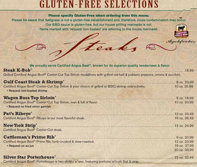 Saltgrass Steak House - Mesquite, TX - Yelp