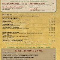 Saltgrass Steak House - Home - Mesquite, Texas - Menu ...