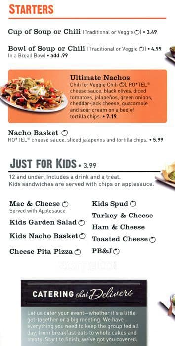 picture relating to Mcalister's Printable Menu identify McAlisters Deli, Aurora, Denver - Urbanspoon/Zomato