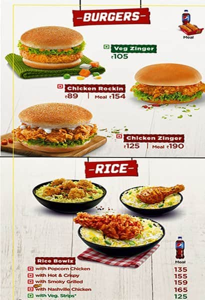 KFC Prices UK KFC Prices UK Are you looking for the very latest prices for all your favourites from KFC? If you are searching for KFC Prices, KFC Menu Prices, KFC Menu UK, KFC Prices and/or KFC Price List you have come to the right place.