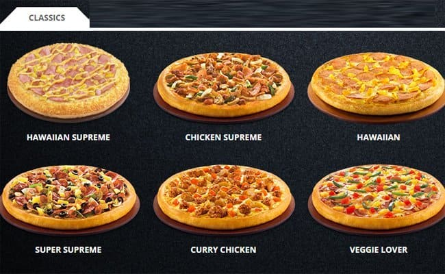 Pizza Hut Menu Menu For Pizza Hut Toa Payoh Singapore