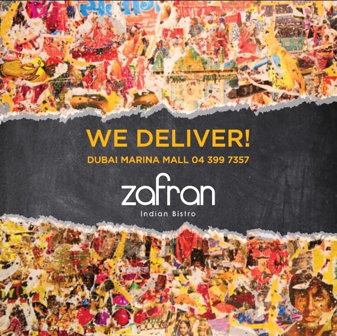 Zafran Menu, Menu for Zafran, Dubai Marina, Dubai - Zomato