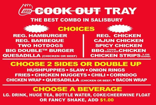 Cookout gastonia