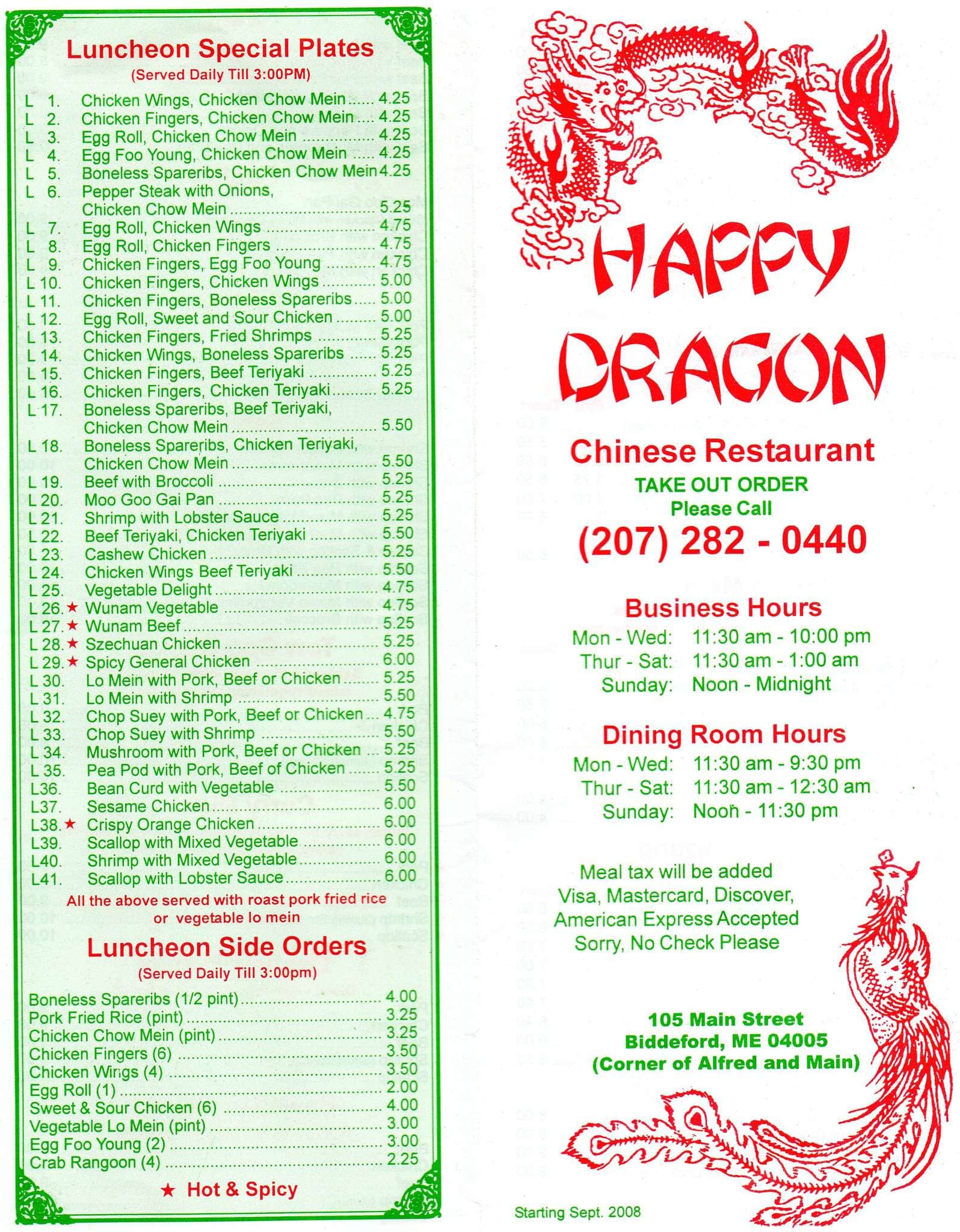 Dragon Chinese Food Near Me