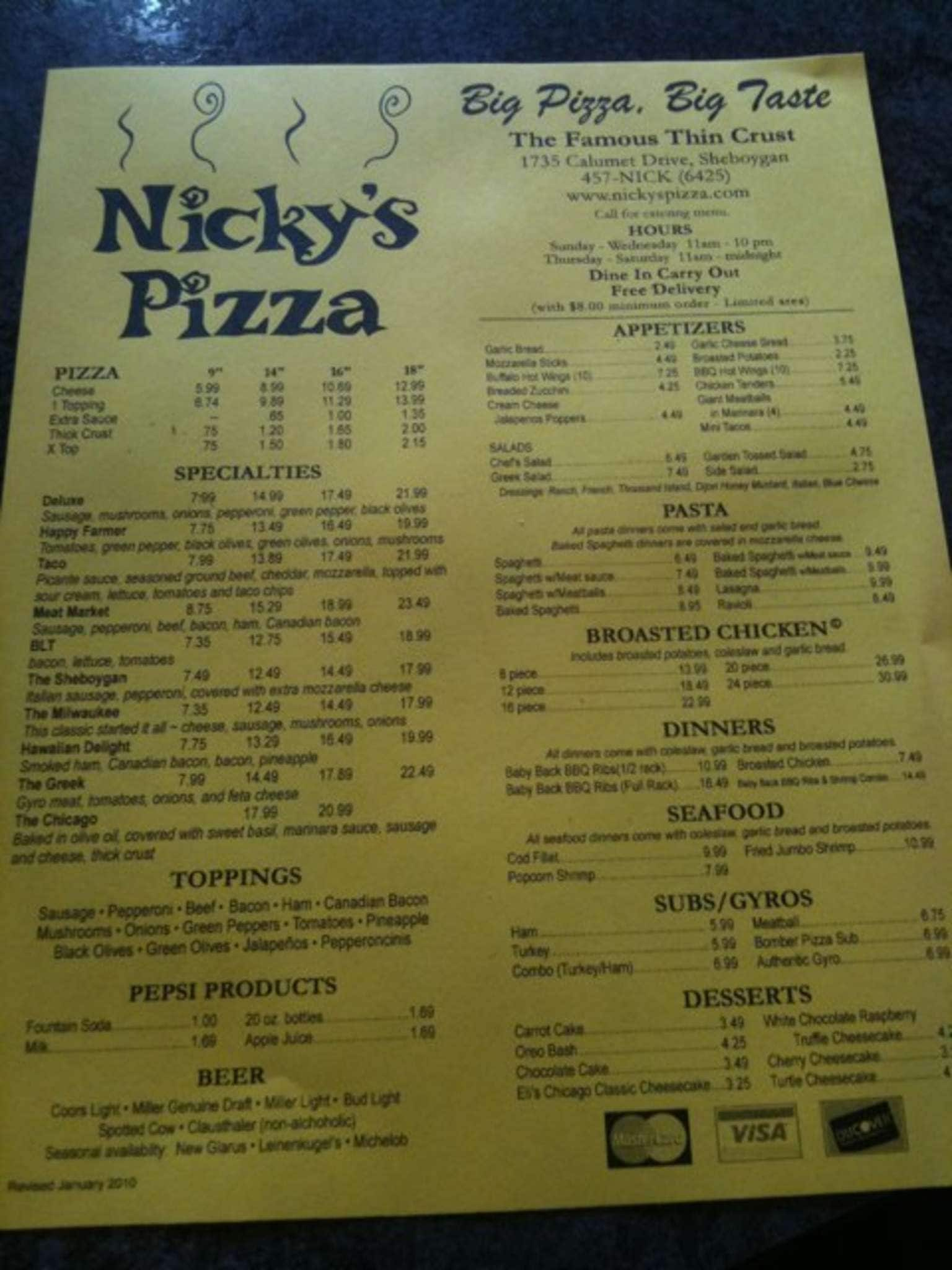 Photo of Nicky's Pizza - Kansas City, MO, United States