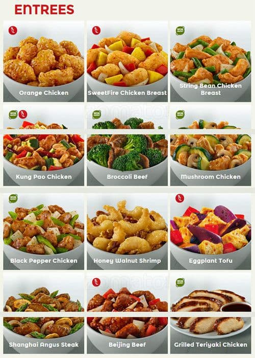 Panda Express Menu, Menu for Panda Express, Shavano Park, San ...