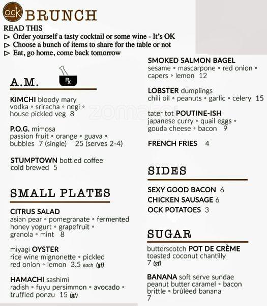 orchard city kitchen menu - Orchard Kitchen