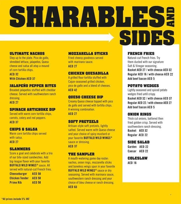 image about Buffalo Wild Wings Printable Menu called Buffalo Incredibly hot Wings Menu Selling prices - menu template style and design
