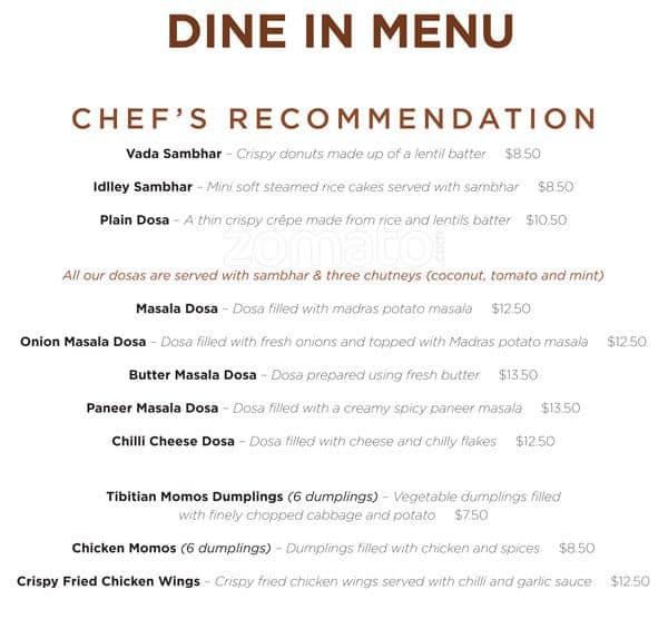 Aangan indian restaurant menu men para aangan indian for Aangan indian cuisine