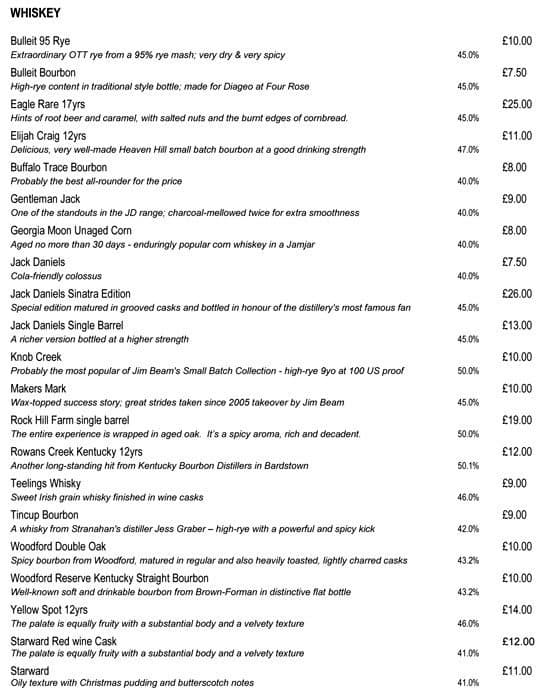 the restaurant information including the bread street kitchen menu items and prices may have been modified since last website update bread street kitchen e16 bread