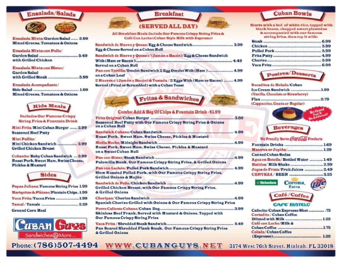 Cuban Guys Restaurant