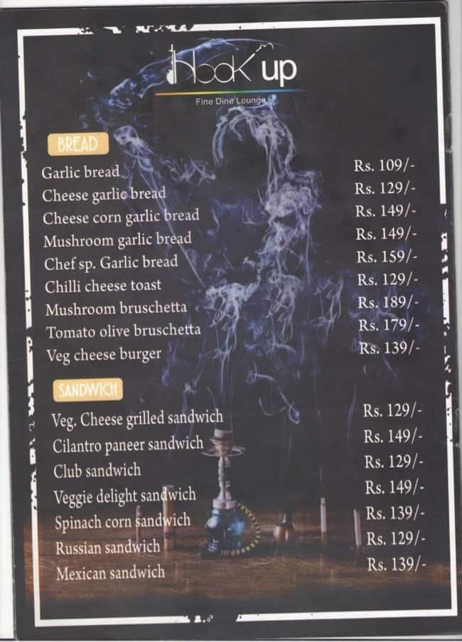 hookup menu