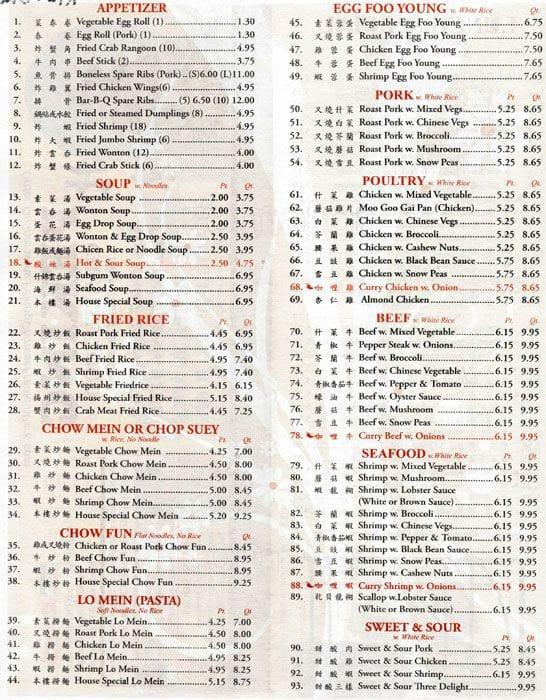 Pekin Il Chinese Food