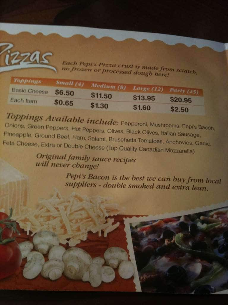 Pepi Pizza Kitchener