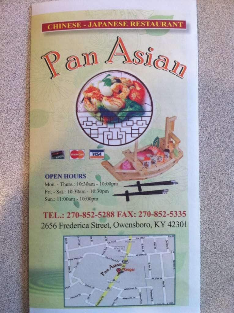 Pan Asian Menu 37