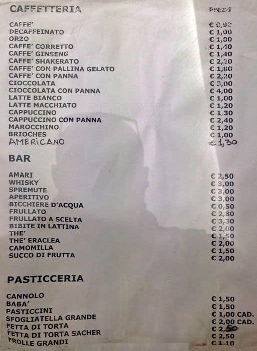 Il Gelatiere a Milano: Foto del Menu con Prezzi - Zomato Italia