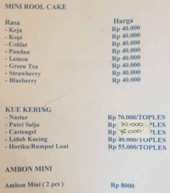 Harum Bali Lapis Legit Cake Shop