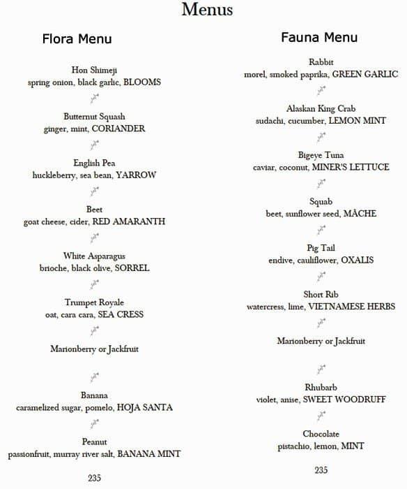 d81989117f Grace Menü, Grace, West Loop, Chicago için Menü - Urbanspoon/Zomato