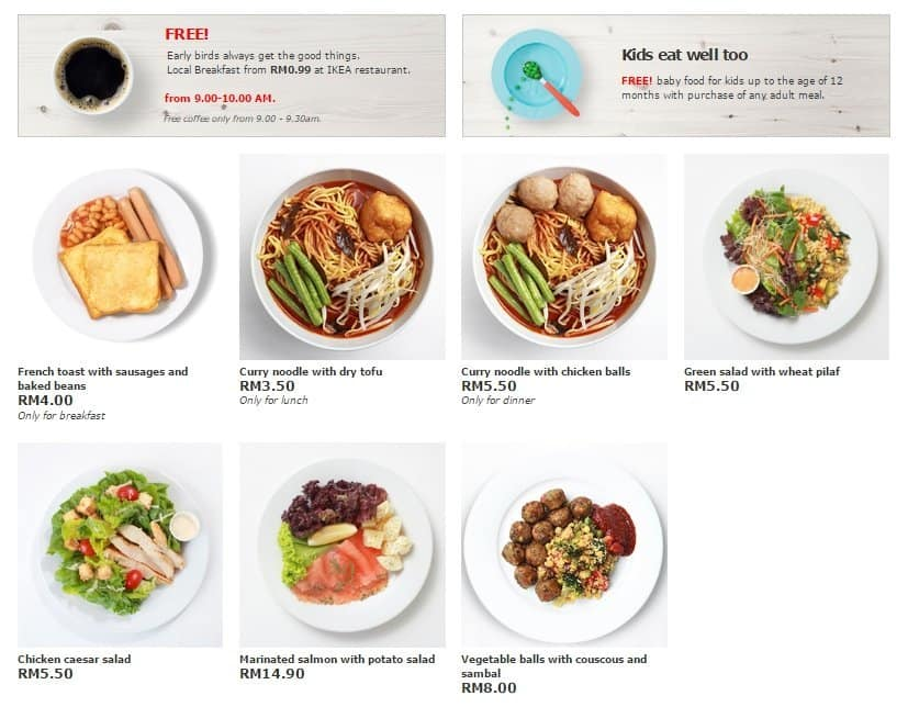 ikea food menu images galleries with a bite. Black Bedroom Furniture Sets. Home Design Ideas