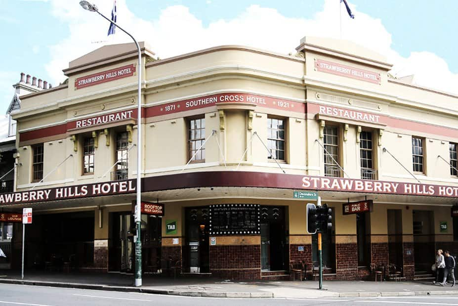 Strawberry hills surry hills