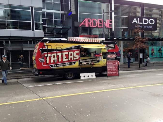 Taters Food Truck Vancouver