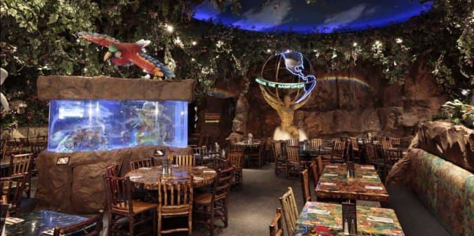 Rainforest Cafe Menu For Gurnee Chicago Urbanspoon Zomato