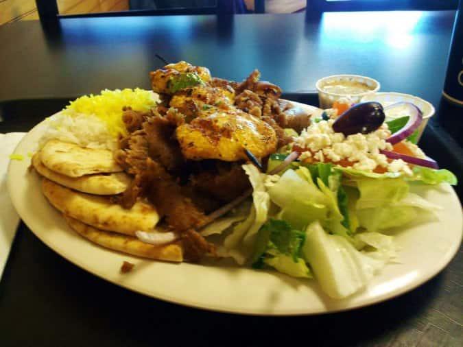Greek Cafe Menu Colorado Springs
