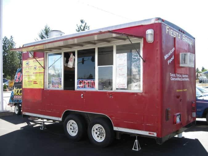 Outlaw Food Truck Menu