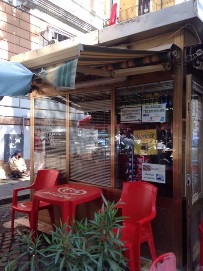 Bar caff via del castro pretorio a roma foto del menu for Affitto appartamento castro pretorio roma