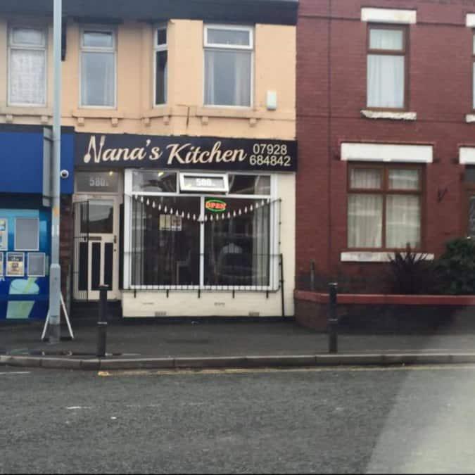 Nana\'s Kitchen Menu, Menu for Nana\'s Kitchen, Reddish, Manchester ...