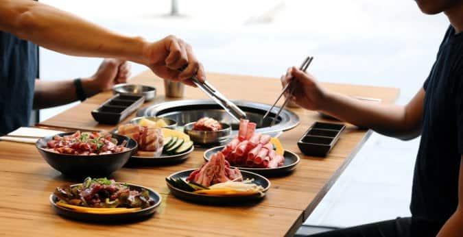 Image result for Mansae korean bbq