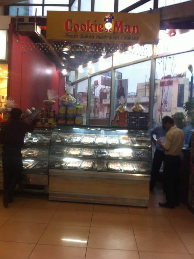Cookie Man Menu Menu For Cookie Man Sector 18 Noida