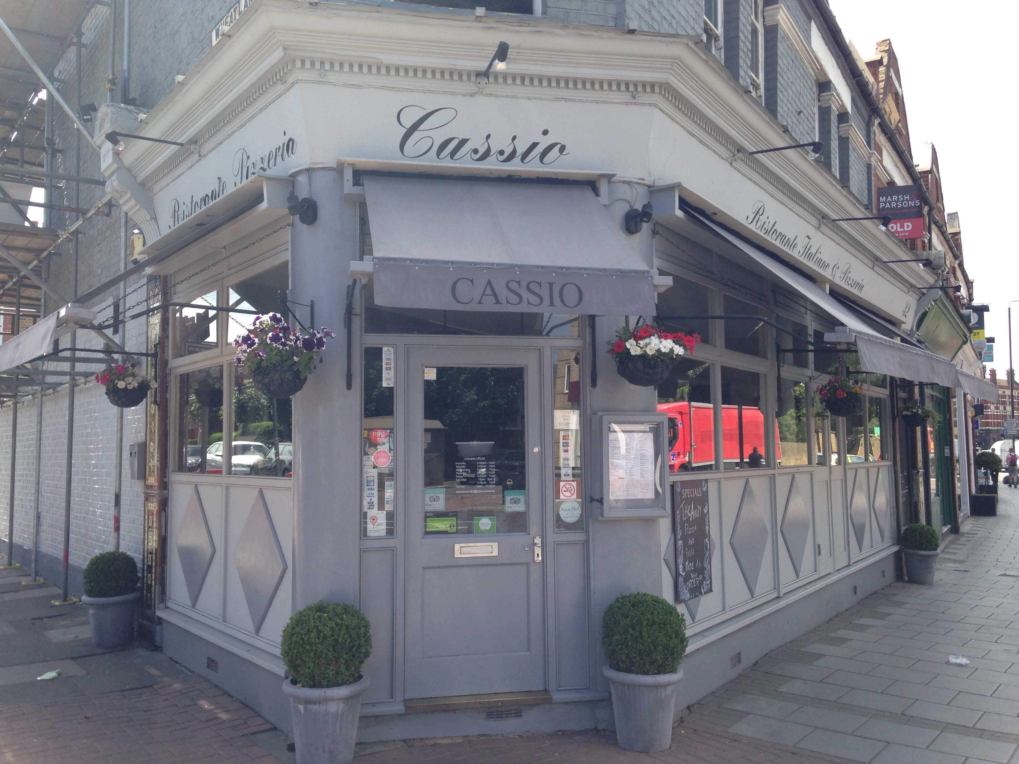 cassio restaurant tooting