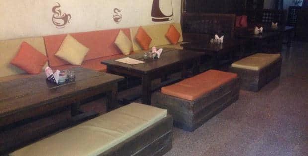 Namya Baid   Shakahari Traveller\'s review for Nukkad Cafe, Raja Park ...