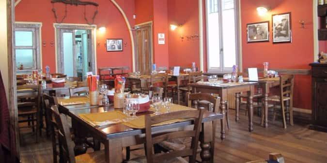 Antica trattoria del borgo a milano foto del menu con - Trattoria con giardino milano ...