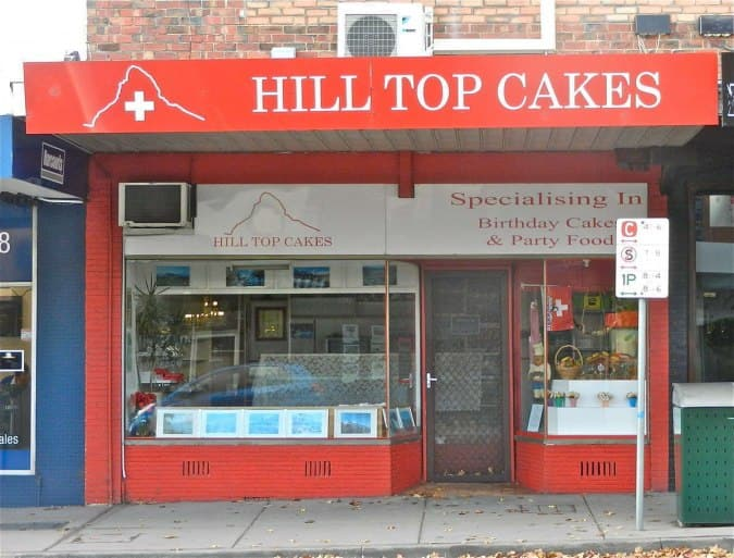 Hill Top Cakes Surrey Hills