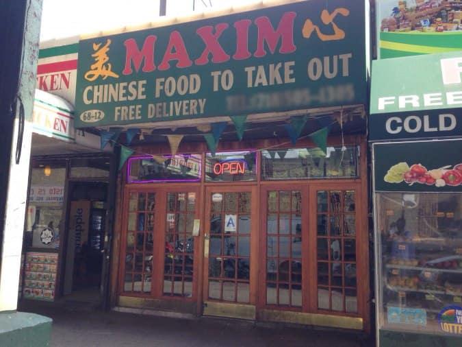 Maxim Chinese Food Woodside