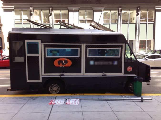 Sanguchon Food Truck Location