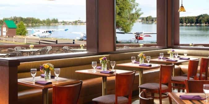 flying machine restaurant anchorage menu