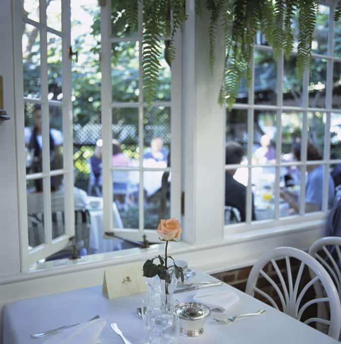The terrace at the charlotte inn edgartown cape cod for Terrace restaurant charlotte