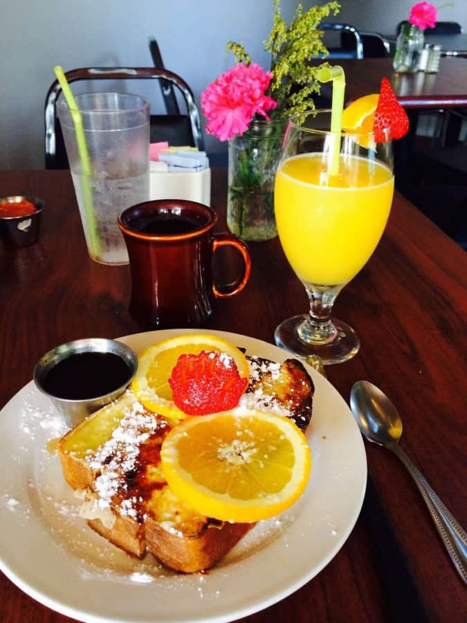 Creswell Cafe Menu