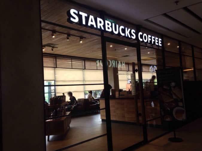Tempat Nongkrong Enak 24 Jam di Jakarta - Starbucks Coffee Sarinah