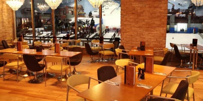 Restaurants in Mall of the Emirates that serve Alcohol
