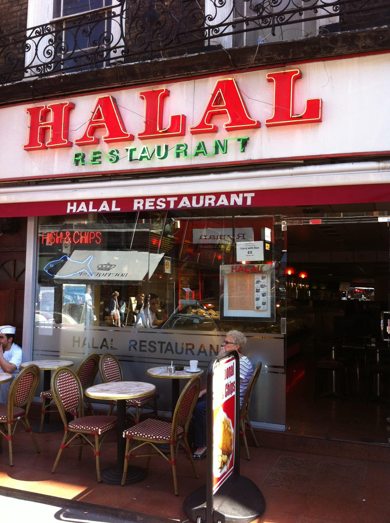 Halal Restaurant Bayswater London