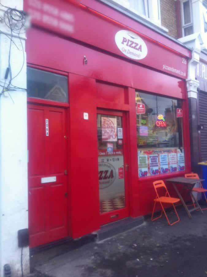 Pizza On Demand Leyton London Zomato Uk