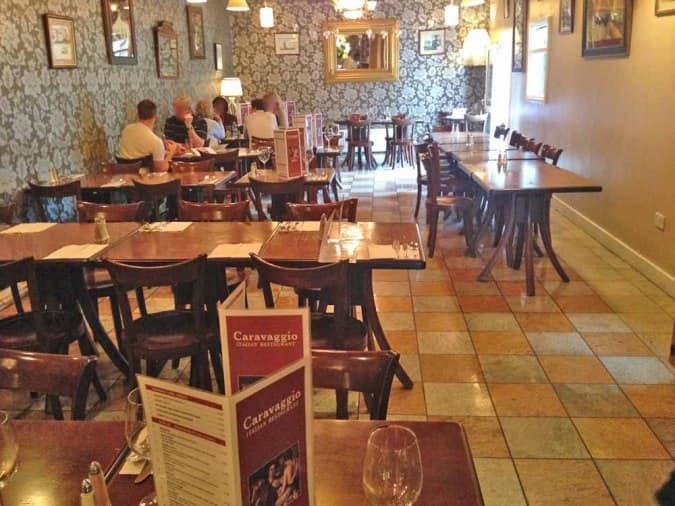 Caravaggio Restaurant London Menu