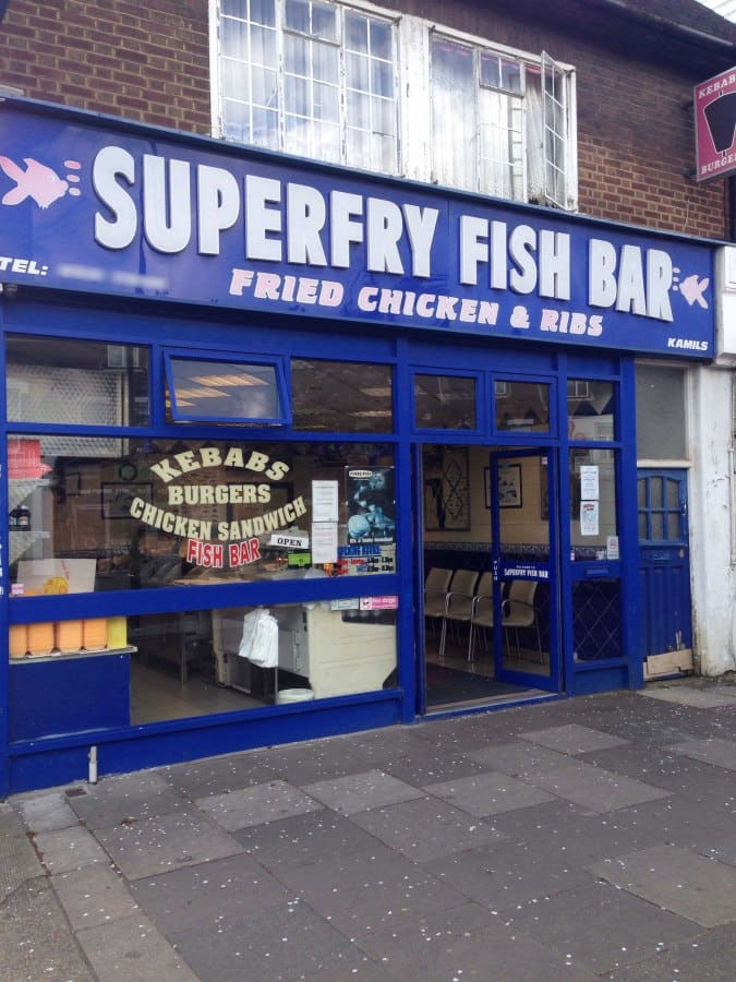 buy popular 09314 cb86f Superfry Fish Bar, Chislehurst, London - Zomato UK